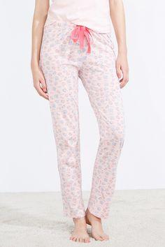 Pantalón de pijama largo estampado