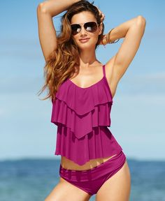 Kenneth Cole Reaction Swimsuit- Macy's. need it!