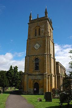 """Blockley Parish Church of St. Peter and St. Paul.  [1 Sept 20111 post on Apple's Tree blog: """"Thomas Berry and the Church of England""""]"""