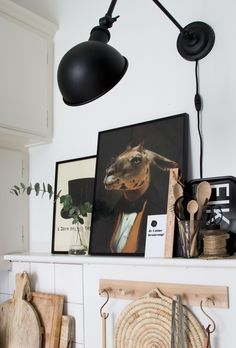 The beautiful (and inspiring) kitchen of an interior designer (wall lamp from Nordal).