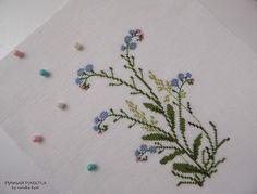 Кусочек лета 2 \ Piece of summer 2: Yamanashi Mikiko «Danish embroidery of Gerda Bengtsson»