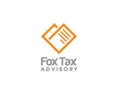 Fox Tax Advisory Logo design - Simple and clean design with two document which outlining a fox face. Great for accounting (bookkeeping), payroll, tax planning, tax consultation, tax preparation.<br /><br />Business name can be changed for free. Price $300.00