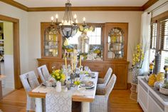 Bachmans Spring Ideas House 2014. Dining Room