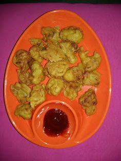 Baisali's homely kitchen: Cauliflower fritters ( Phulkopi/Gobi Pakora)