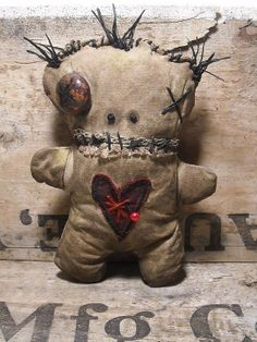 Handmade Voodoo Doll (Voodoo Papin)
