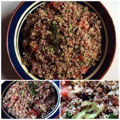 Bunter Quinoa Salat - vegan. #dahabenwirdensalat #gesundundleckerfürjedentag
