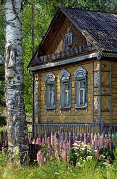 Russian house... beautiful