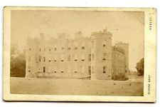 1880s SHIRBURN CASTLE CDV PHOTO CARTE DE VISITE THAME OXFORDSHIRE TOPO POSTCARD