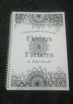 My finished colouring book!