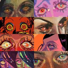 haha yeah art: the sequel in 2019 жуткое искус Pretty Art, Cute Art, Art Sketches, Art Drawings, Art Et Design, Arte Obscura, Arte Sketchbook, Wow Art, Psychedelic Art