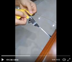 Zipper Repair With Straw
