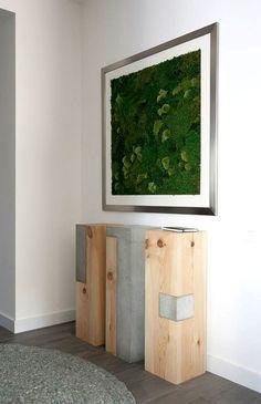 Fresh Design of Modern Urban Home by #SVOYA Studio solid wood #concrete interior #artobjects