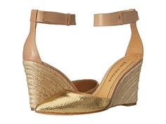 Enzo Angiolini Cozetta Gold/Natural Leather - Zappos.com Free Shipping BOTH Ways