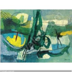 Afro Basaldella Italian Italian abstractionist, known simply as Afro. Was born in the town of Udine not far . Abstract Styles, Abstract Art, Abstract Paintings, History Books, Art History, Cleveland Museum Of Art, Black And White Painting, Afro, Italian Artist