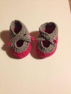 Gebreide baby schoentjes