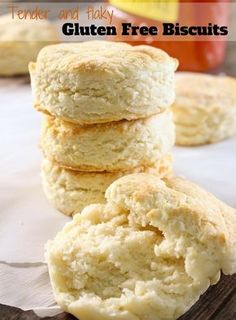 "Gluten Free Soda Biscuits | Life After Wheat These tender, light, and flaky biscuits have a secret ingredient that makes them softer and easier. They'll have everyone asking if they're ""really"" gluten free! ThereIsLifeAfterWheat.com"