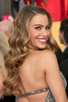 Actress Sofía Vergara attends the 20th Annual Screen Actors Guild Awards at The Shrine Auditorium on January 18, 2014 in Los Angeles, Calif...