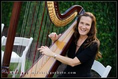 Orlando Harpist - Reunion Resort wedding, photo by Mike Briggs Photography #Orlando #harpist