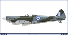 Spitfire Supermarine, Hellenic Air Force, Aviation Art, World War Ii, Wwii, Fighter Jets, Aircraft, 1, Colour Schemes