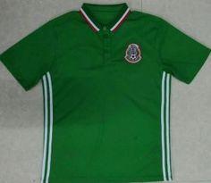 1a5c13107 Mexico Soccer Team 16-17 Green Polo Shirt Mexico Soccer Team 16-17 Green  Polo Shirt|cheap soccer jerseys [F767] - $17.99 : Cheap Soccer Jerseys  Shirts ...