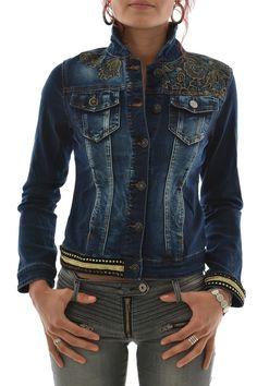 blousons et vestes desigual 67e20f9 magda bleu