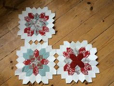 Lucy Boston 'Patchwork of the Crosses' tutorial - PART 1 - Lina Patchwork