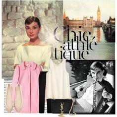 """Audrey Hepburn"" by leticiacbm on Polyvore"