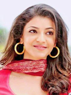 Kajal Agarwal Beautiful Girl Indian, Most Beautiful Indian Actress, Beautiful Women, Beauty Full, My Crush, Indian Girls, Indian Actresses, Crochet Earrings, Drop Earrings