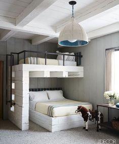 Bunk Beds Adjust, People Do Not. – Bunk Beds for Kids Dream Rooms, Dream Bedroom, Home Bedroom, Kids Bedroom, Bedroom Decor, Decor Room, Warm Bedroom, Trendy Bedroom, Bedroom Storage
