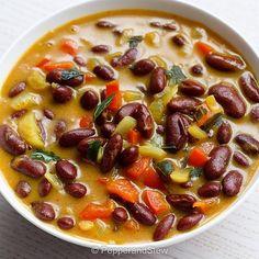Maharagwe ya Nazi - kidney beans in coconut sauce - Kenyan bean stew - Home of African Food
