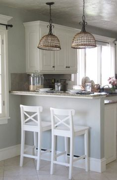Kitchen Island Against Wall want a splash of color in your kitchen? why not tile your kitchen