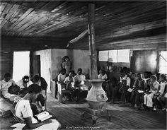 Segregated classroom, 1941  Civil Rights Movement