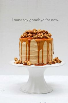 cake with popcorn and caramel - Szukaj w Google