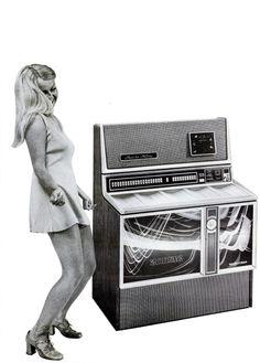 Wurlitzer Zodiac jukebox, c. 1970