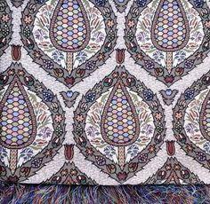 Tenture de Syrie pour décoration d'intérieur : Tissus Ameublement par nabalsy