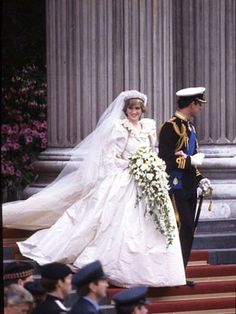 The Most Iconic Dresses of All-Time: Princess Diana's wedding dress