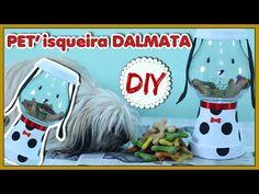 DIY: Pote de Ração/Petisco em formato de Cachorro - Especial PET - YouTube