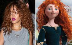 7 cabelos da Rihanna que poderiam ter sido inspirados nas princesas da Disney - Beleza - CAPRICHO