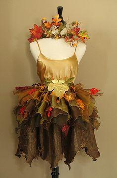 Autumn Glory Faerie costume by Fairy Nana, via Flickr