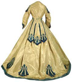 Smoke-Blue Silk, 1865 - back