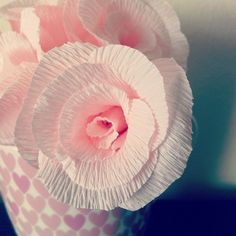 D'Light Paper Rose Paper Roses, Hand Fan