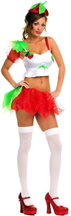 Adult strawberry shortcake halloween costumes