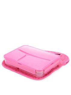 Ružový box na obed Prêt à Paquet