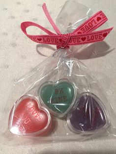 Heart shaped lip gloss- Perfect for Valentine's Day