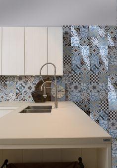 Piano #cucina realizzato in #lapitec Avorio Vesuvio by #auroracucine