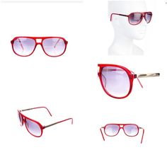 3.1 Phillip Lim red framed sunglasses Cute fun red framed Phillip Lim Sunglasses with case. In great condition - only worn a couple of times. 3.1 Phillip Lim Accessories Sunglasses