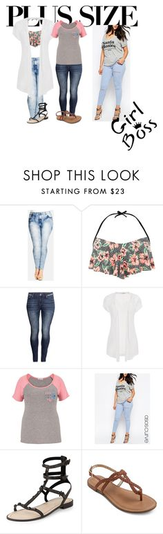 """For my plus size ladies"" by bbygurlstaste ❤ liked on Polyvore featuring City Chic, H&M, maurices, ASOS Curve and Rebecca Minkoff"