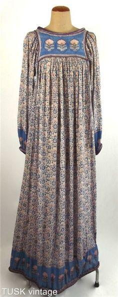 Vintage 70s Anokhi dress - lost to someone else on ebay :(