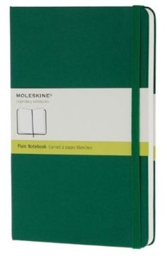 Amazon.com: Moleskine Legendary Hardback Large Plain Notebook (Green): Home & Kitchen Drooool...