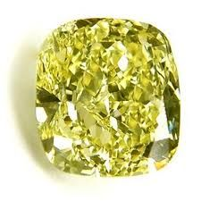 """Weighing 110.03 carats, the """"Sun Drop"""" diamond is known as the largest pear-shaped yellow diamond in the world."""